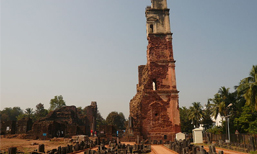 Ruins of the Church of St.Augustine. Goa